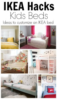 IKEA Hack Ideas to Customize Kids Beds