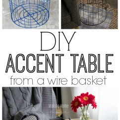 Big Round Comfy Chair Unique Desk Diy-accent-table-from-a-wire-basket.jpg