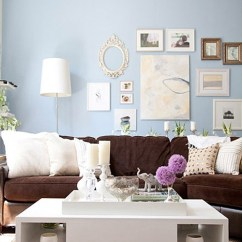 Colour Scheme For Living Room With Dark Brown Sofa Side Tables Uk Decorating A And Loving