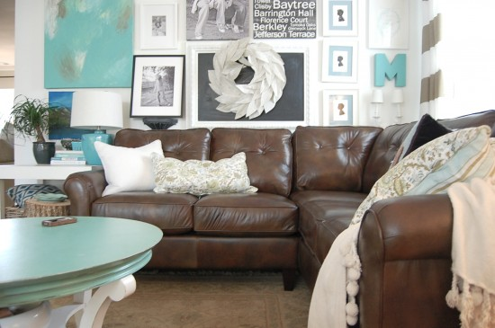 colour scheme for living room with dark brown sofa sofas india decorating a and loving