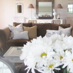 Living Room Designs With Brown Couches Cabin Rooms Decorating A Sofa And Loving