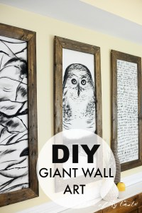 Decorating Large Walls