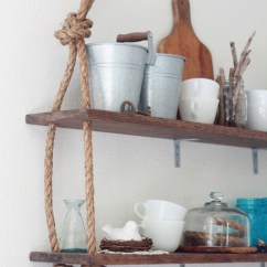 How To Create A Pantry In Small Kitchen Ikea Backsplash Diy Shelves - 18 Shelving Ideas