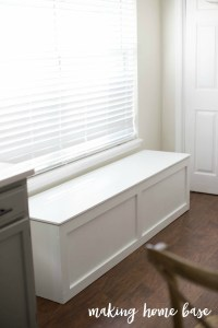 How to Build a Window Seat with Storage - DIY Tutorial