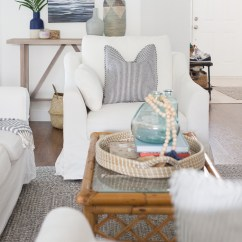 Slipcovered Living Room Chairs Wave Hill Chair Ikea The Perfect Pair Of Coastal Chic These Classic Are Gorgeous Farlov