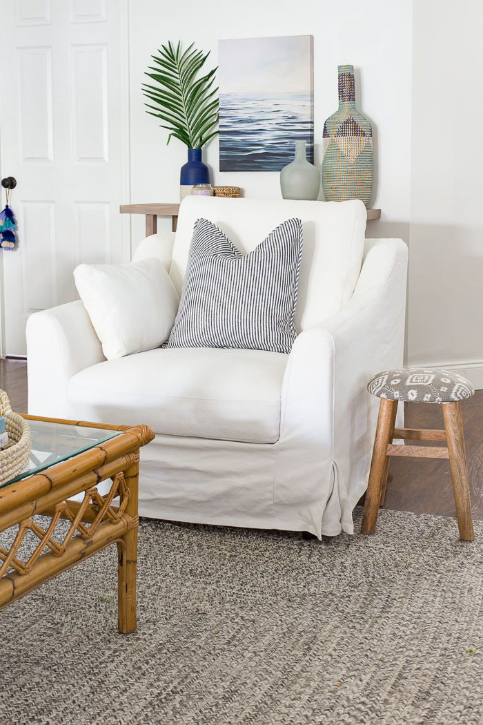 ikea ektorp chair review wingback covers australia chairs the perfect pair of coastal chic farlov slipcovered