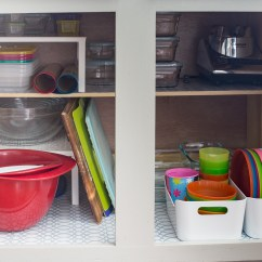 How To Organize Your Kitchen Cabinets And Drawers Stainless Steel Shelf With Hooks Once For All Finding A