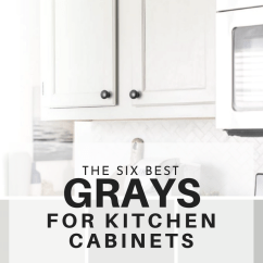 Grey Kitchen Cabinets Runners Rugs The Six Best Paint Colors For Gray Are Not Only Very On Trend But Because Is Accepted As A Neutral They Have Timeless Look