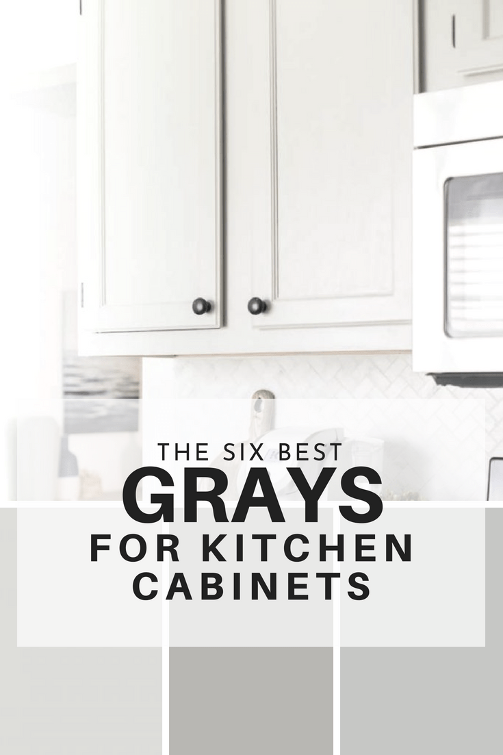 gray kitchen cabinets hanging baskets for the six best paint colors are not only very on trend but because is accepted as a neutral they have timeless look