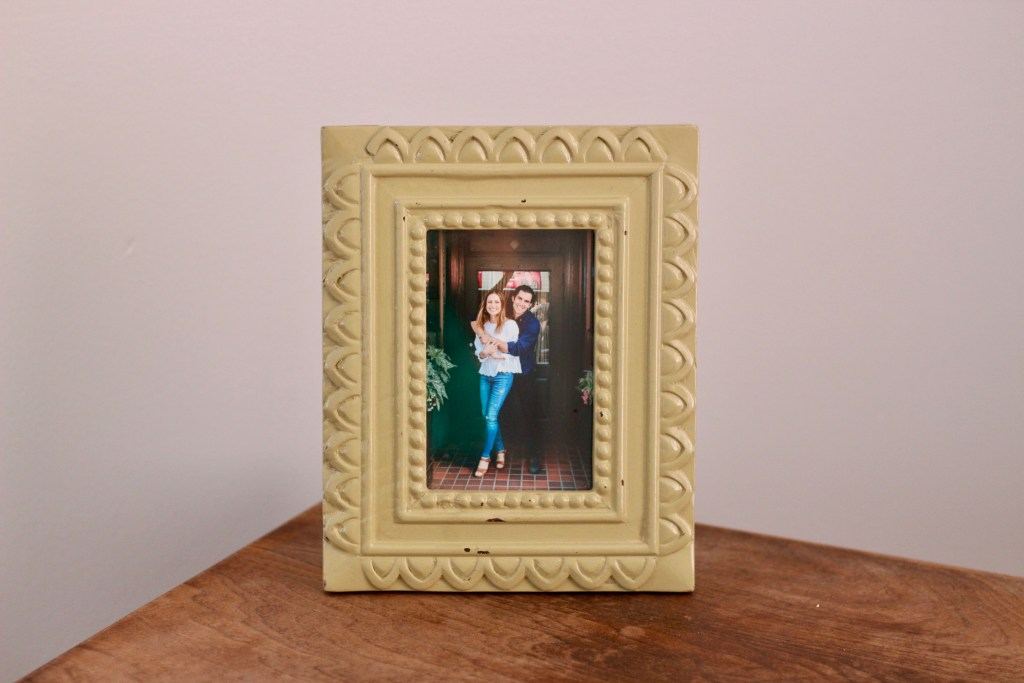 picture frame from goodwill asheville
