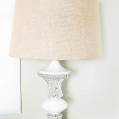 DIY Lamp Makeover