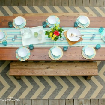 Outdoor Makeover Challenge - Final Reveal @ making it in the mountains