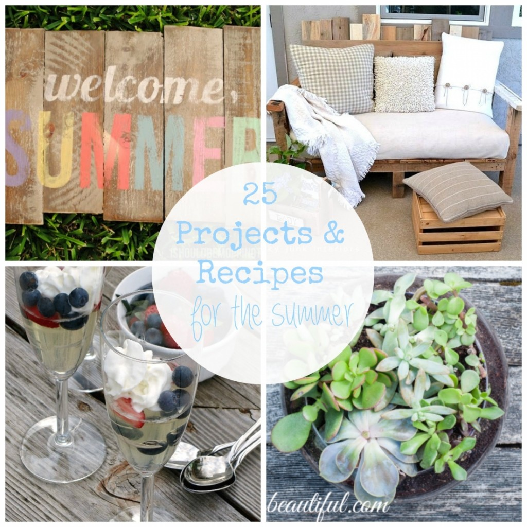 25 Outdoor DIY Projects and Recipes You MUST try this Summer