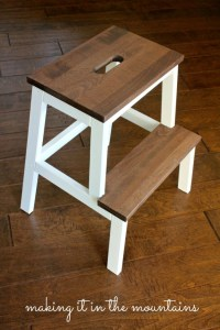 Guest Post - IKEA Stool Makeover | Little Red Brick House