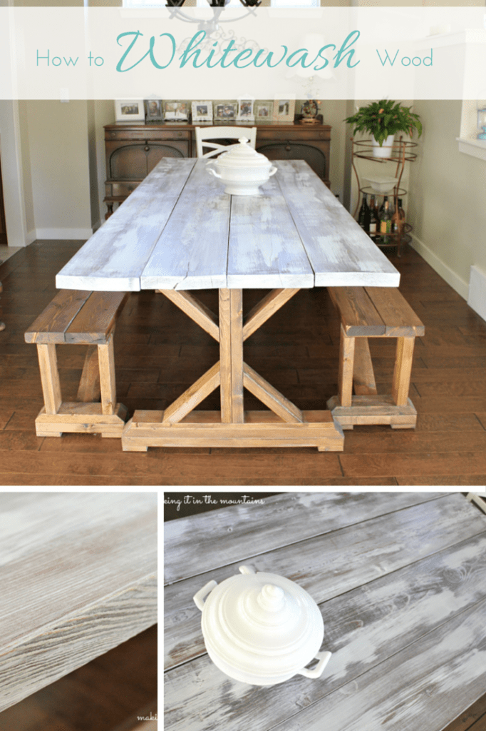 How to Whitewash Wood :: making it in the mountains