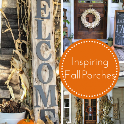 12 Lovely {Fall} Porches that are sure to Inspire!
