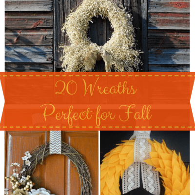 20 Wreaths Perfect for {Fall}