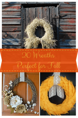 20 Wreaths Perfect for {Fall} :: making it in the mountains