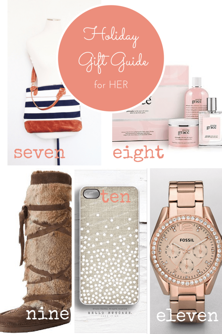 Holiday Gift Guide for Her - making it in the mountains