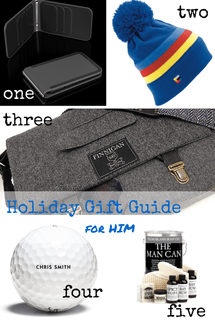 Holiday Gift Guide for Him - making it in the mountains