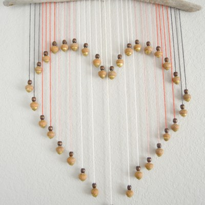 Guest Post – Ombre Valentine's Heart Wall Hanging