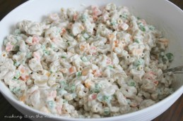 Macaroni Salad | making it in the mountains