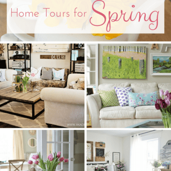 10 {GORGEOUS} Home Tours for Spring