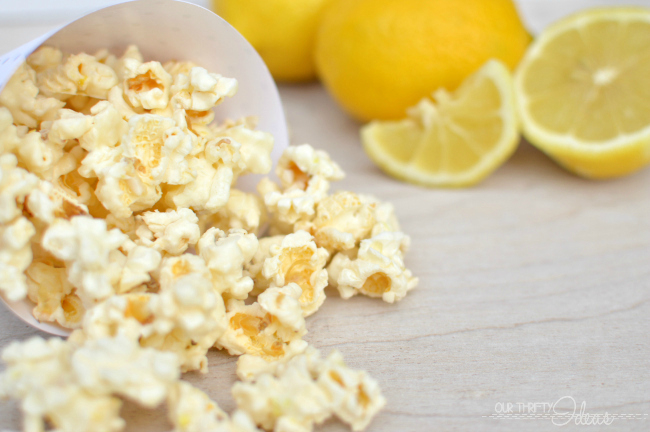 Lemon White Chocolate Popcorn