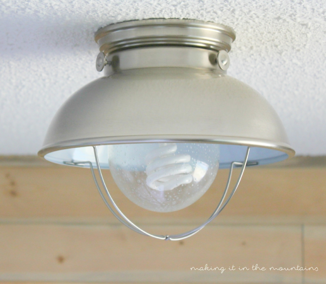 Let There Be Light 10 Perfectly Rustic Ceiling Lights