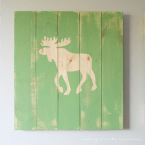 Rustic DIY Plank Art | making it in the mountains