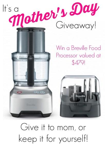 Breville Food Processor Giveaway