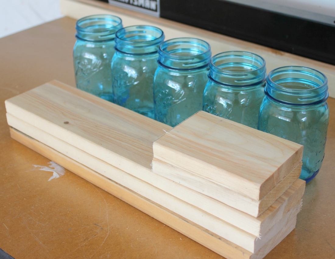 3 scrap wood and mason jar planter box making it in the mountains