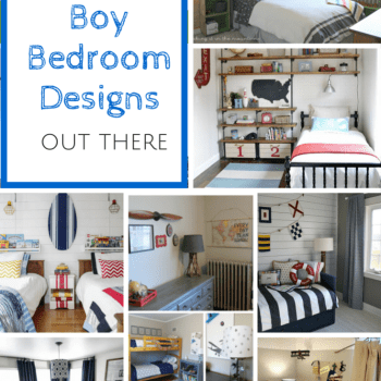 I've rounded up some of the very best boy bedrooms out there to show you just how much fun you can have with your kiddo's bedroom too!