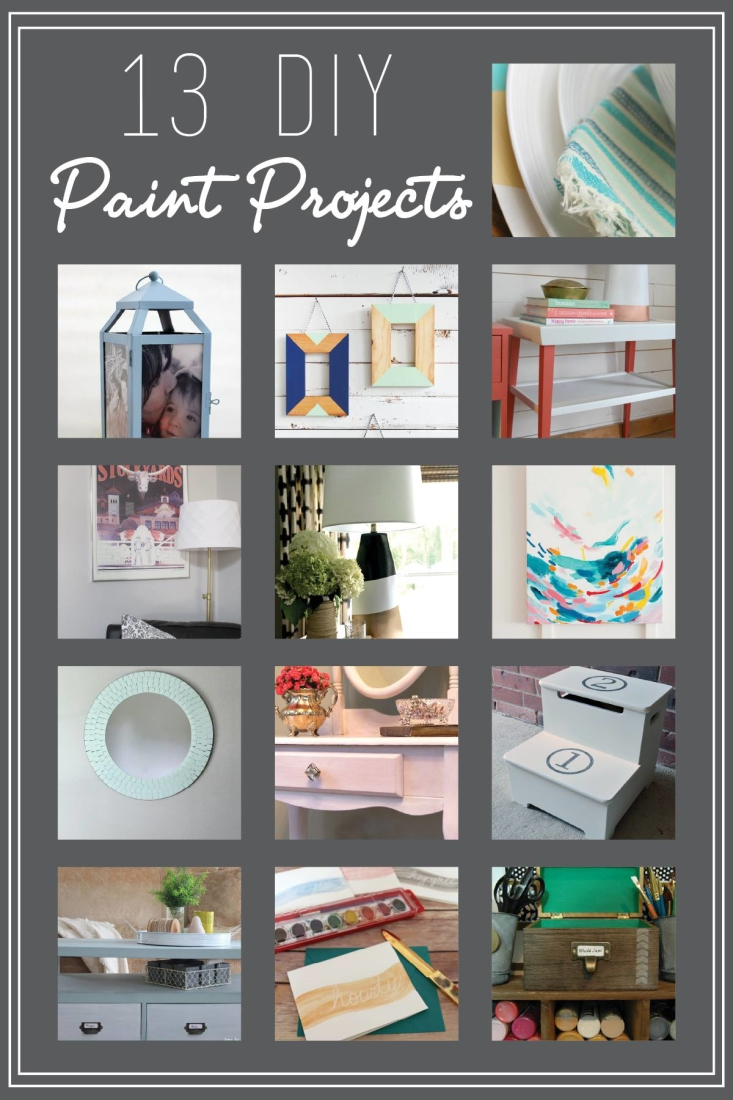 13 DIY Paint Projects sure to inspire!