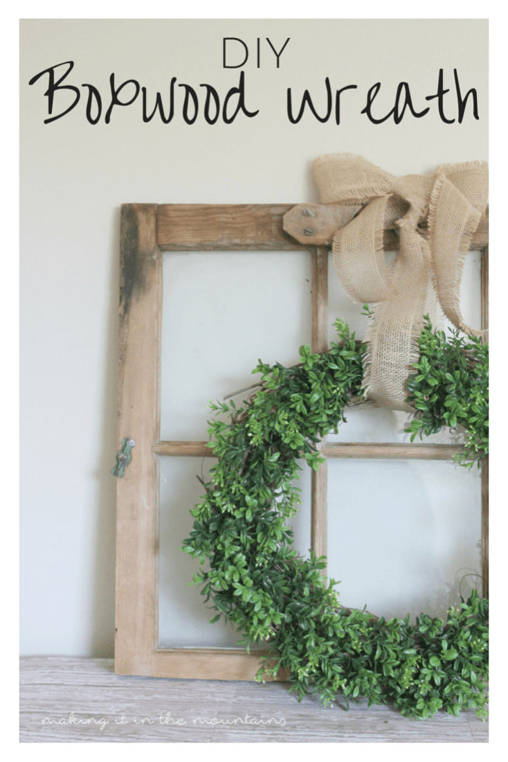 Check out how I put this perfect little wreath together in just 15 minutes and for less than $15!