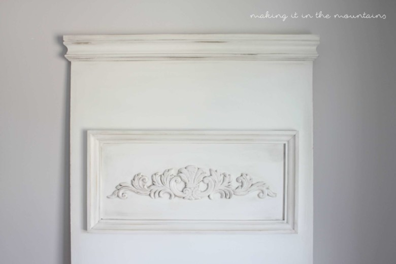 How To Age Furniture With Antiquing Powder Making It In