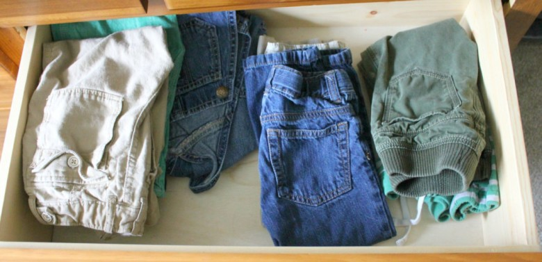 Decluttering the Closet Week Two of {Sparking Joy}