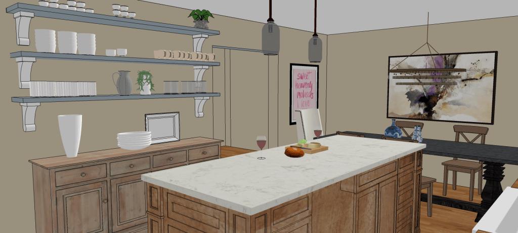 Dream Kitchen Design Plan Making It In The Mountains
