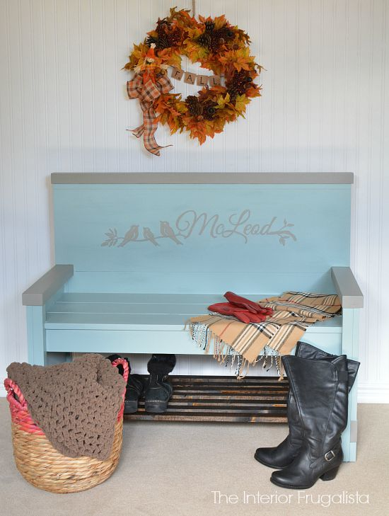 Headboard to Entry Bench