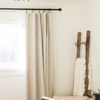 DIY Custom Lined Curtains