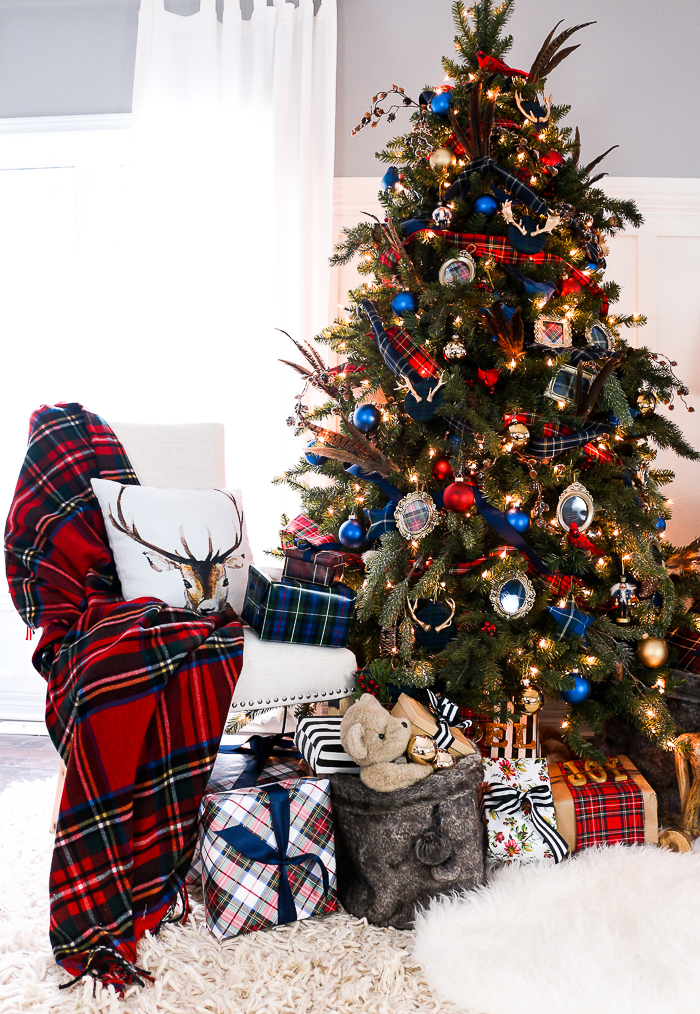 Preppy Plaid Christmas Tree