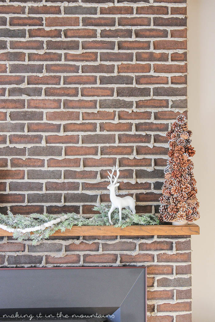 This DIY Pinecone Christmas Tree is not only super easy to make, but with it's classic style and neutral colours, it's the perfect addition to any holiday decor!