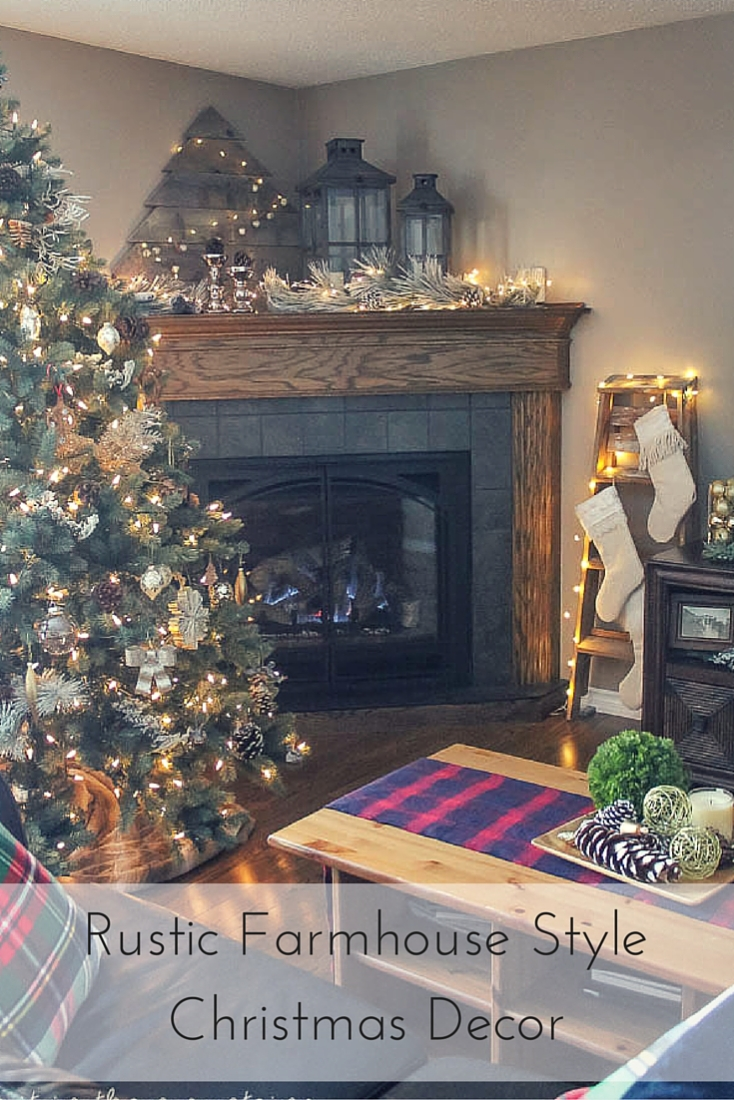A Rustic Farmhouse Syle Christmas Home Tour