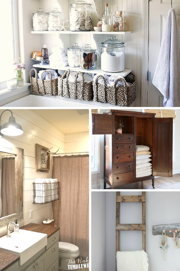 Don't have a linen closet? Or maybe it's just running low on space. No matter your linen storage woes, these 12 pretty ways to organize and store linens are sure to leave you feeling organized and inspired!
