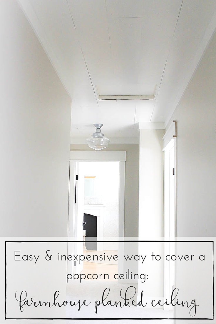 The Easiest And Cheapest Way To Transform A Popcorn Ceiling A
