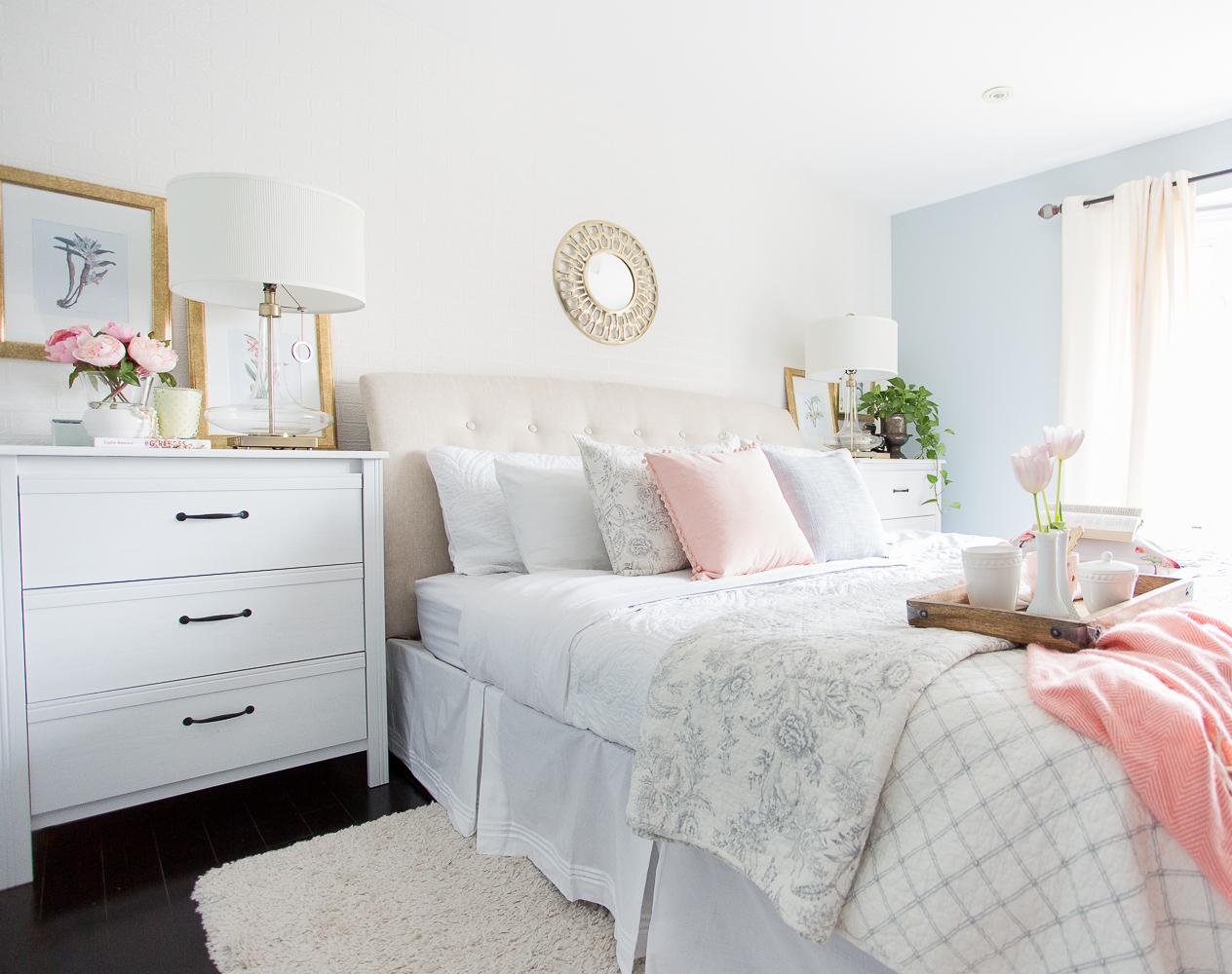 Spring Master Bedroom
