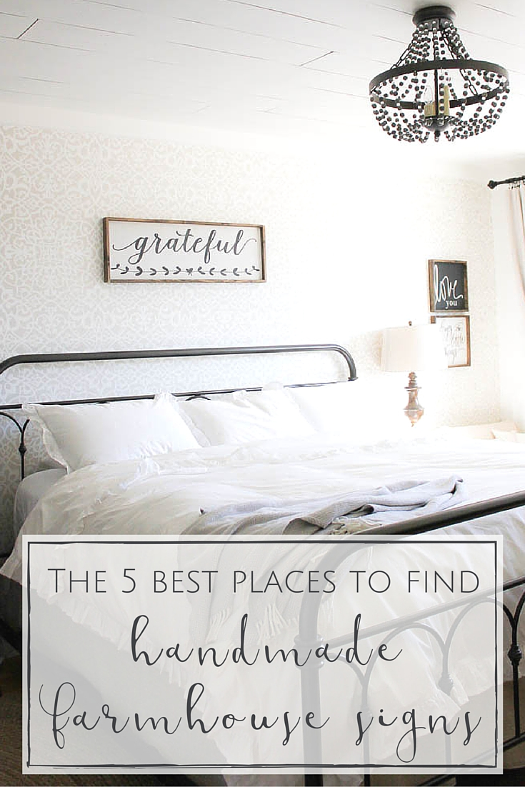 The 5 Best Places To Find Handmade Farmhouse Signs Making It In