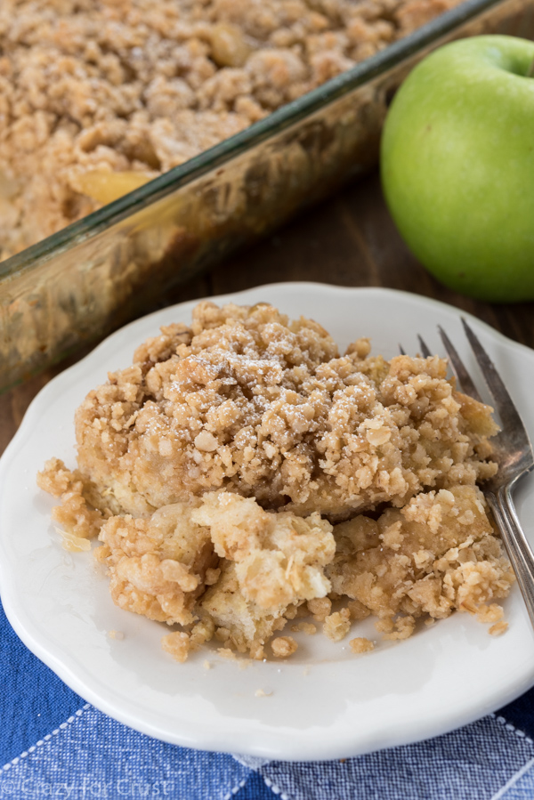 Overnight Apple Pie French Toast Casserole