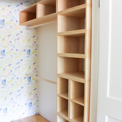 DIY Custom Closet Organizer: The Brilliant Box System