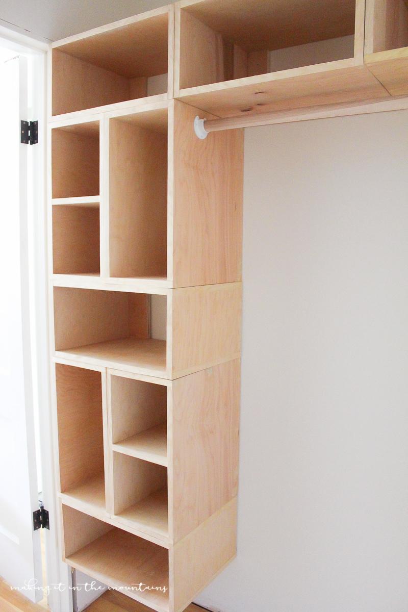 diy custom closet organizer the brilliant box system making it in rh makingitinthemountains com